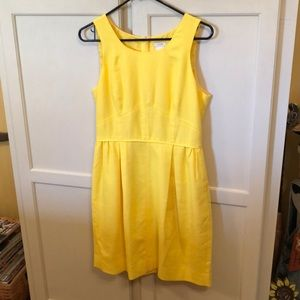 J.Crew Sunshine Yellow Sleeveless Dress Size 6